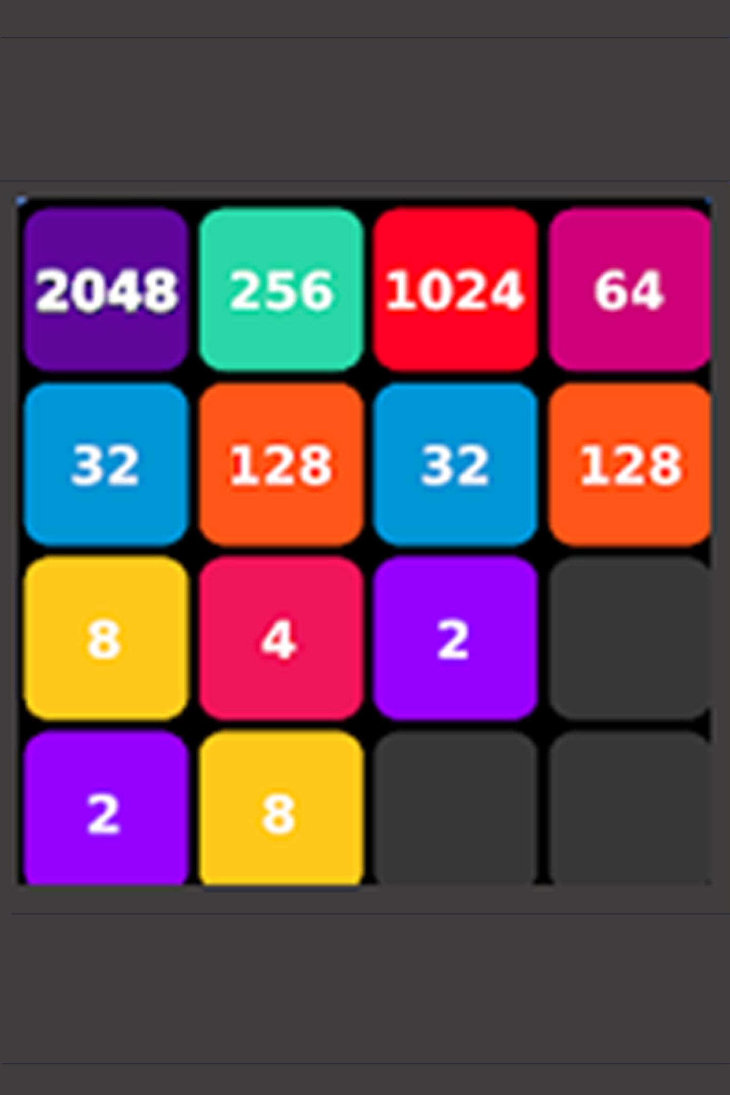 2048 Plus Game: Original