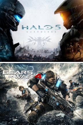 Gears of War 4 and Halo 5