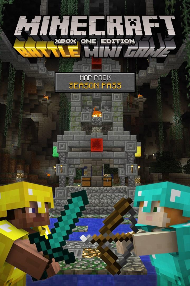 Minecraft Battle Map Pack Season