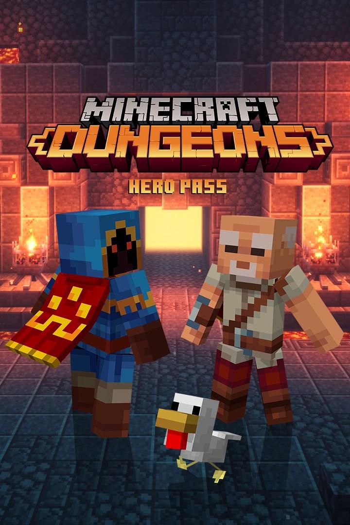 Minecraft Dungeons Hero Pass Upg