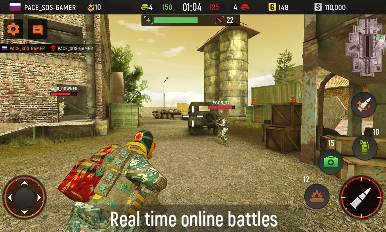 Striker Zone Game: Target Shoote
