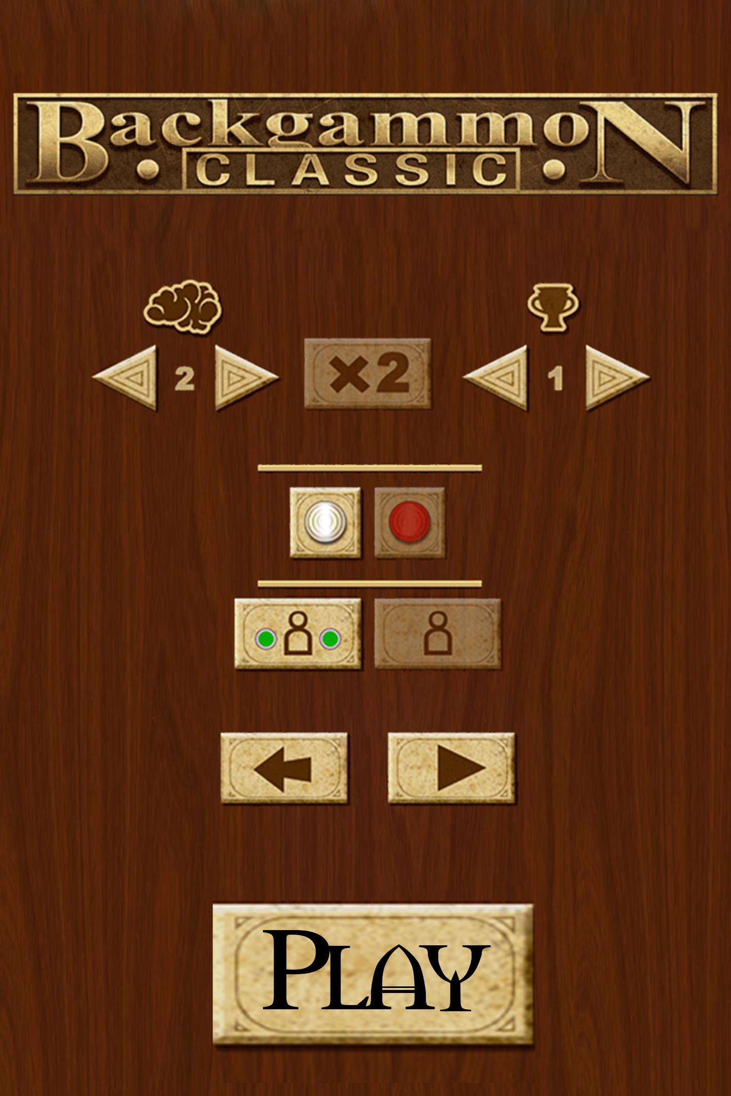 Backgammon Classic Game