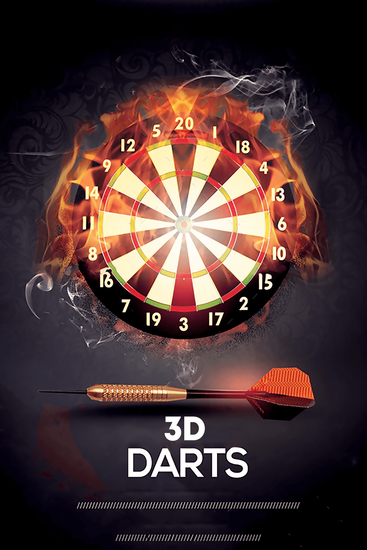 3D Darts: Crazy Darts Player