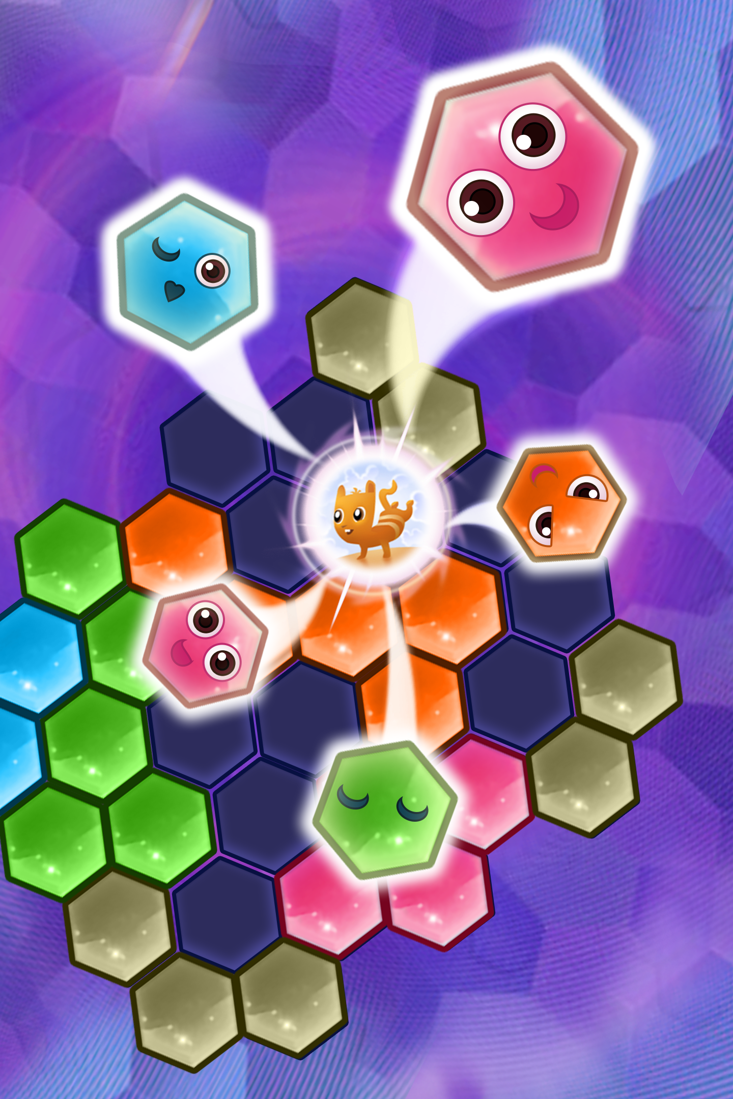 Hex Zen: Leisure Hexagon Eliminate