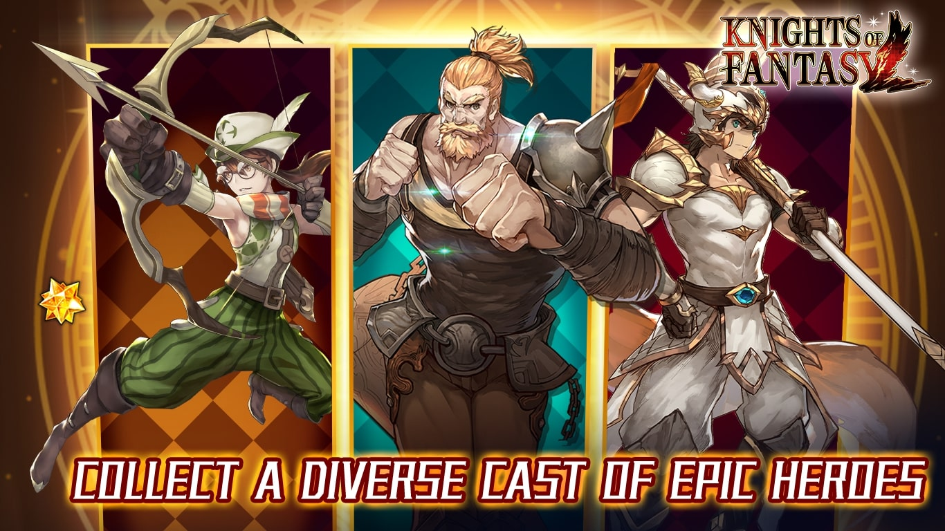 Knights of Fantasy: Guard Justice