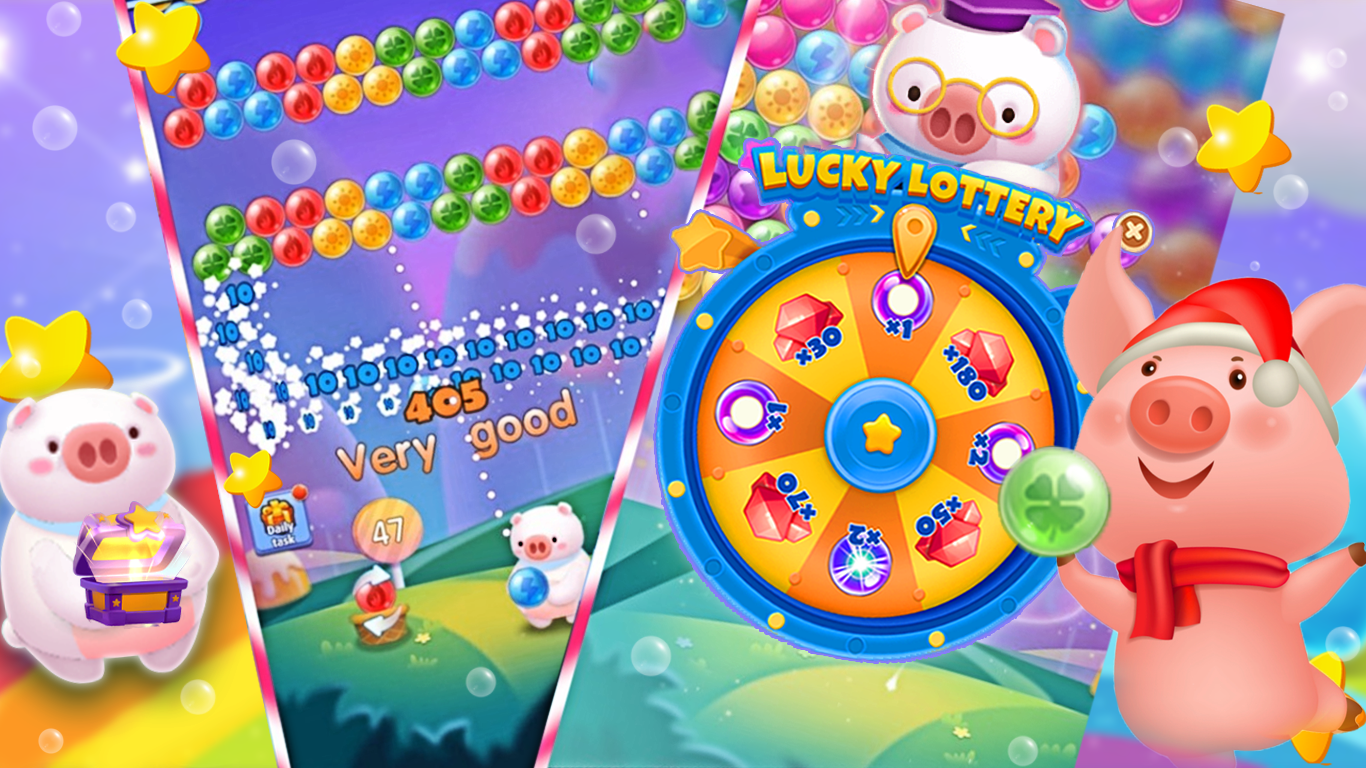 Bubble Piggy: Marbles Launch