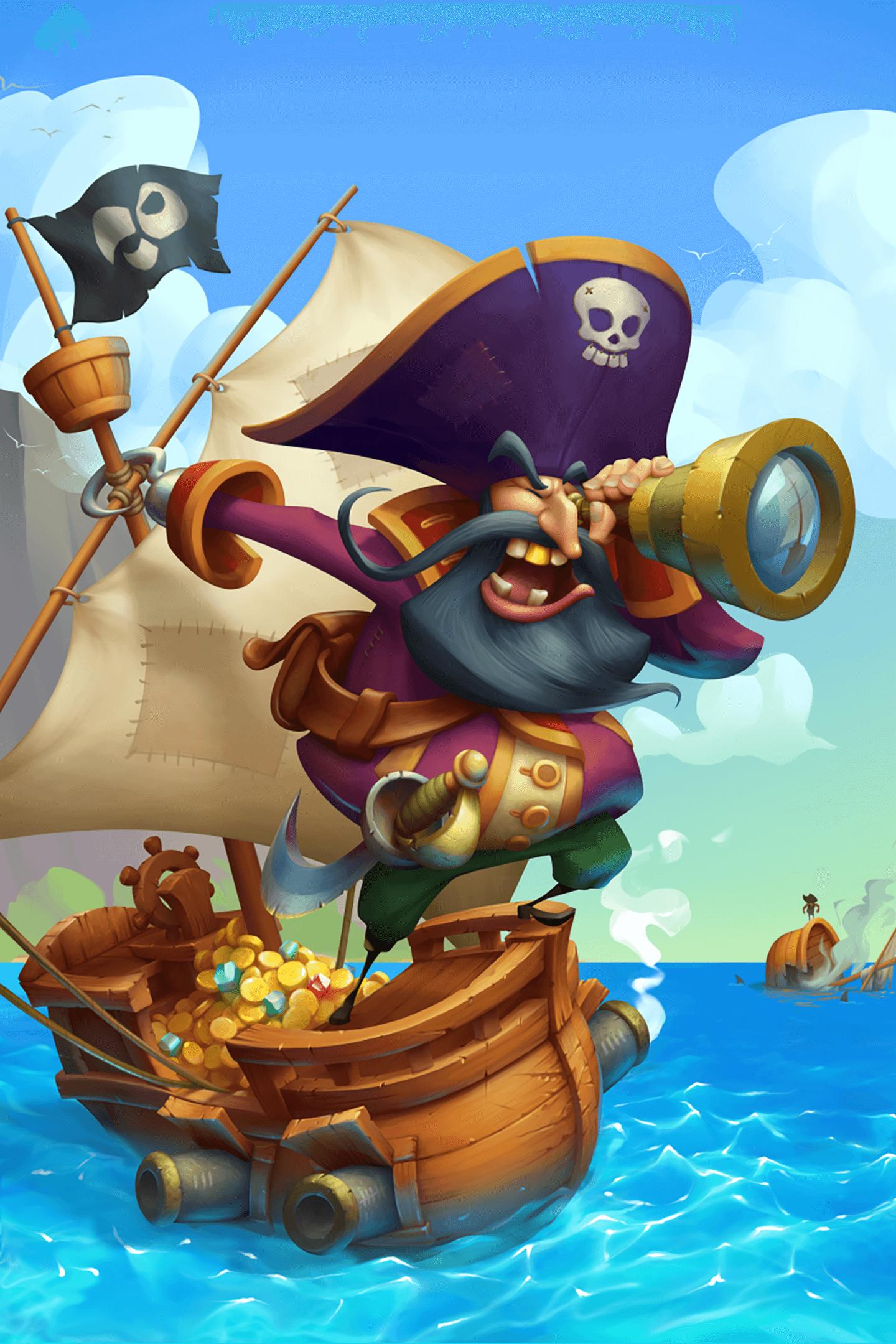 Pirate Cards: He's a Pirate Kids