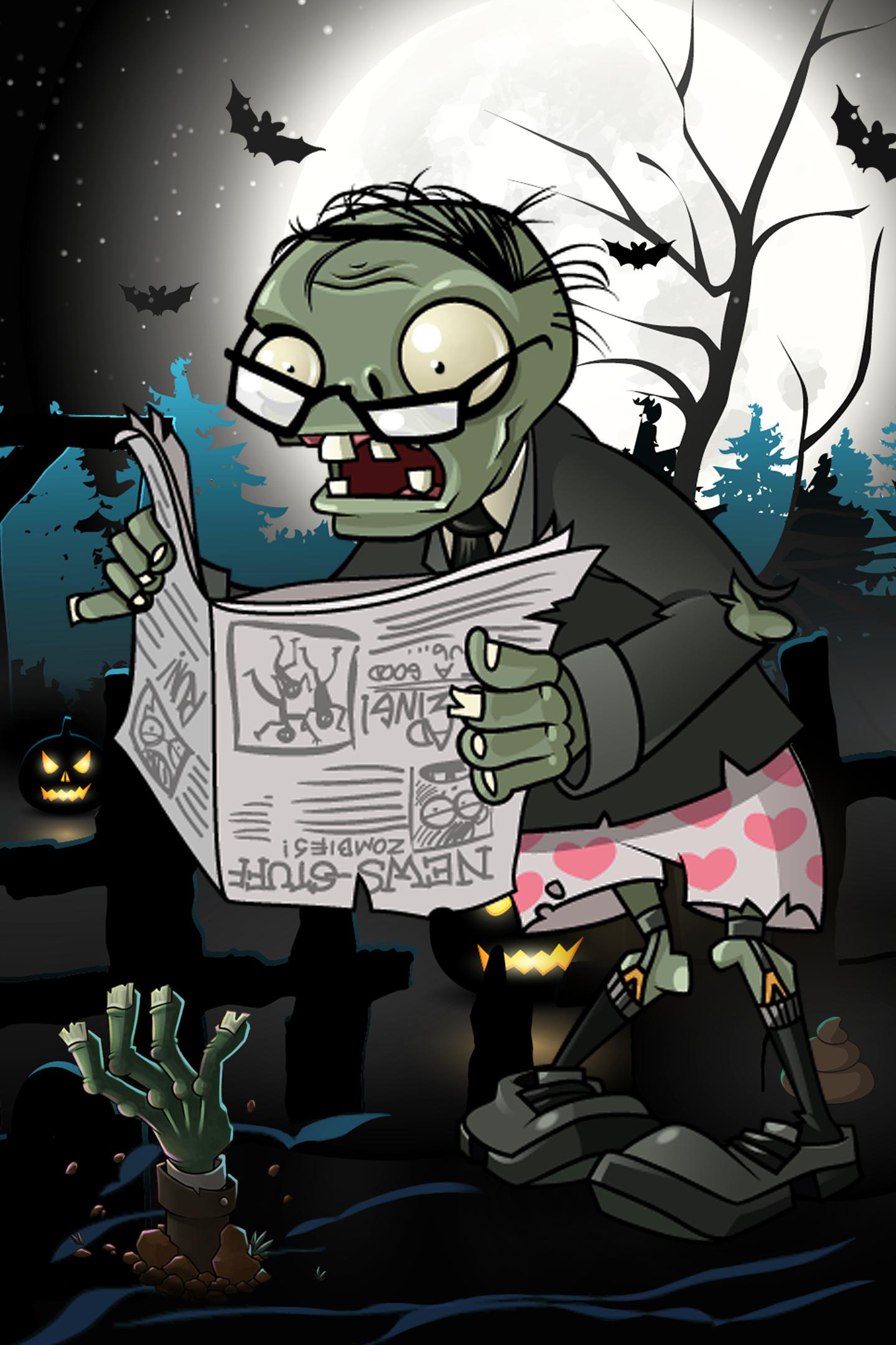 Plants Zombies: Crazy Peashooter