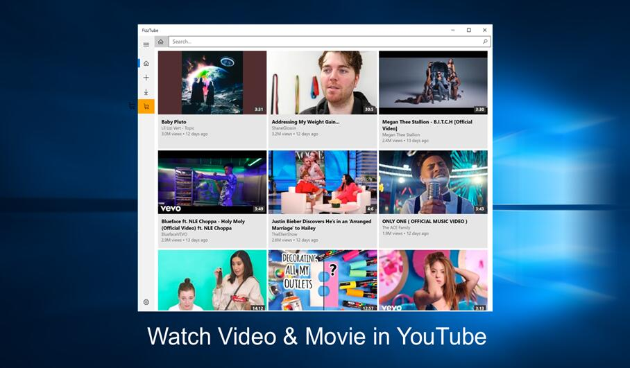 FizzTube - YouTube Player