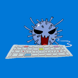 Typing Game Fight Viruses