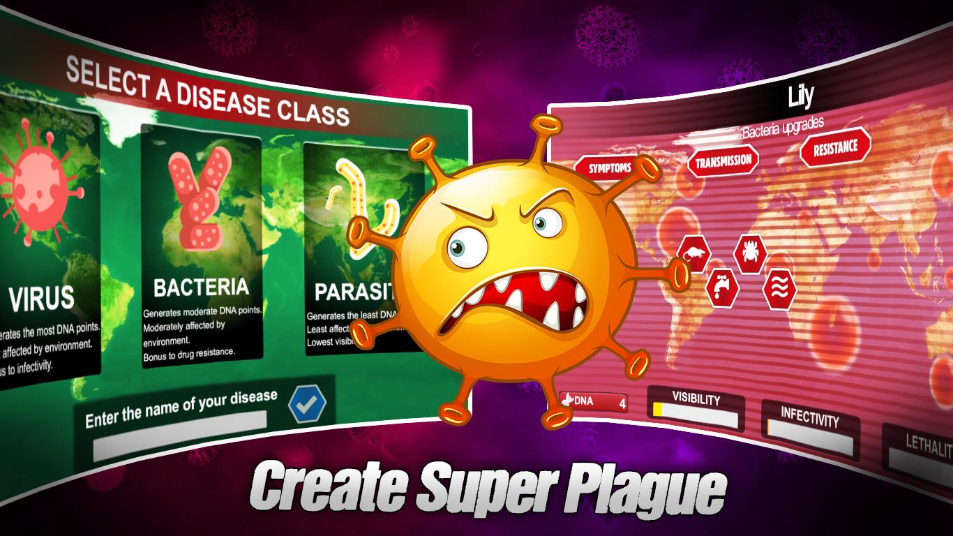 Pandemic Simulator: Plague
